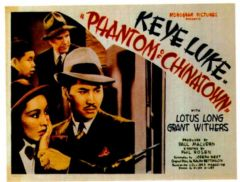 Phantom of Chinatown 1940 DVD - Keye Luke / Grant Withers